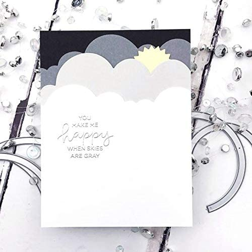 Cloud/&Grass Border Metal Cutting Dies Stencils Cloud/&Grass Border Die Cut For Card Making DIY New2019 Crafts Cards