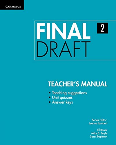 Final Draft Level 2 Teacher's Manual