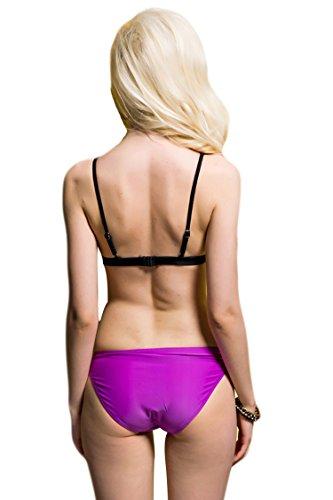 Hot 2 PCS Women Sexy Push Up Padded Swimsuit Swimwear Bathing Suit Bikini Set