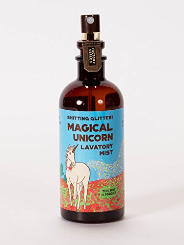 Blue Q Shitting Glitter Magical Unicorn Lavatory Mist