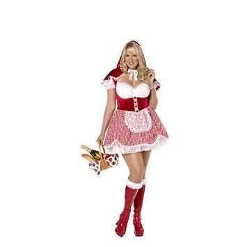 Desconocido Disfraz de Caperucita Roja fever para mujer: Amazon.es ...