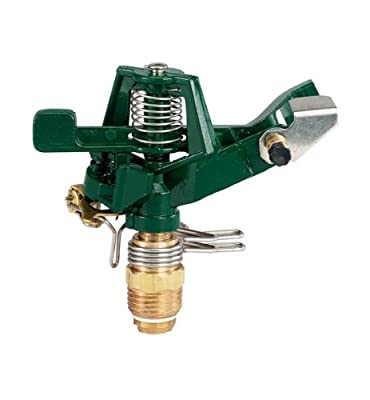 "Orbit 1/2"" Thread Metal Impulse Impact Sprinkler Head, Lawn Sprinklers - 55015"