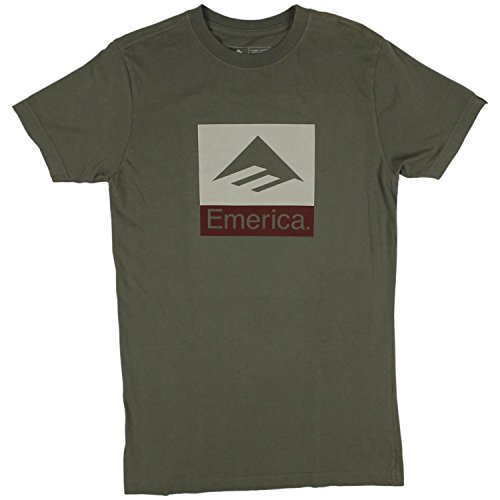 Emerica Combo (Emerica Combo 10 Short Sleeve T-Shirt Small Green White)
