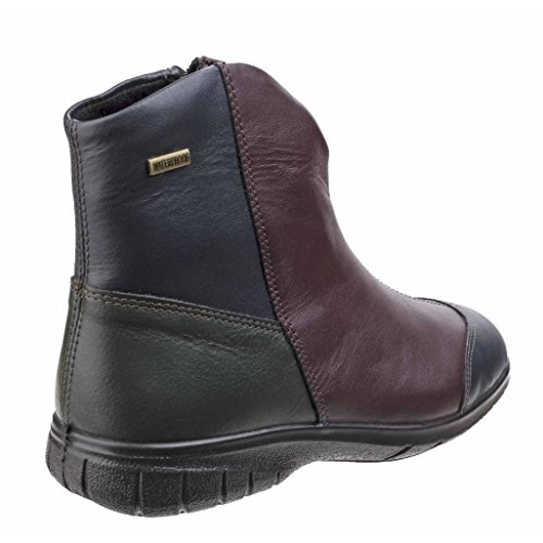 Sizes Ankle Black Womens 3 Chalford Bordo Boots Leather 8 Cotswold UK Black X5xwU8W