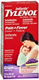 infant grape tylenol - Tylenol Infants' Pain + Fever Oral Suspension Grape Flavor - 2 oz, Pack of 2