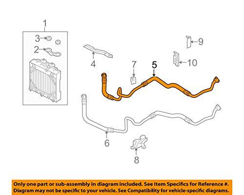Genuine BMW F01 F01N F02 Engine Oil Cooler Hose Pipe Inlet OEM 17227589509