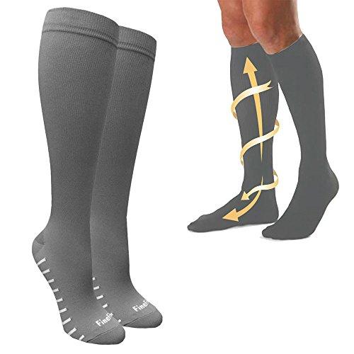 Mens Compression Socks Sports Womens Calf Shin Leg Running Fitness Cross Fit S M
