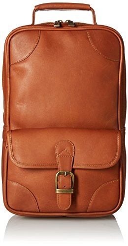 Claire Chase Upright Golf Shoe Bag, Saddle by ClaireChase