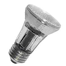 Anyray A1767Y (5-Bulbs) 50-Watts PAR16 Narrow Flood Halogen Light Bulb 130V Medium Screw E26 50W 120V Dimmable