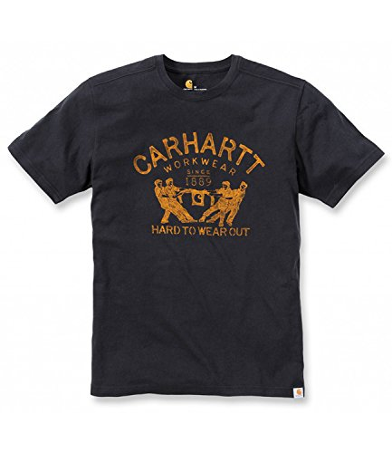 Carhartt T-Shirt Maddock Graphic Hard To Wear Out noir