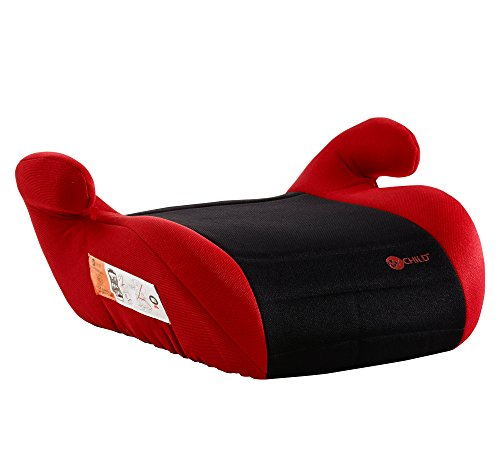 Mychild Button Booster Seat Red/Black