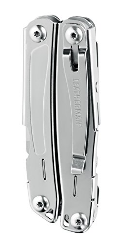 Leatherman Sidekick Multi Tool, Stainless Steel with Nylon Sheath