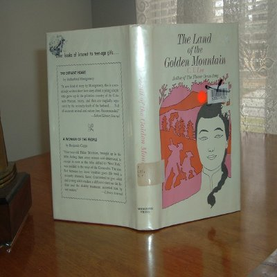 THE LAND OF THE GOLDEN MOUNTAIN By C.Y. LEE 1967 FIRST