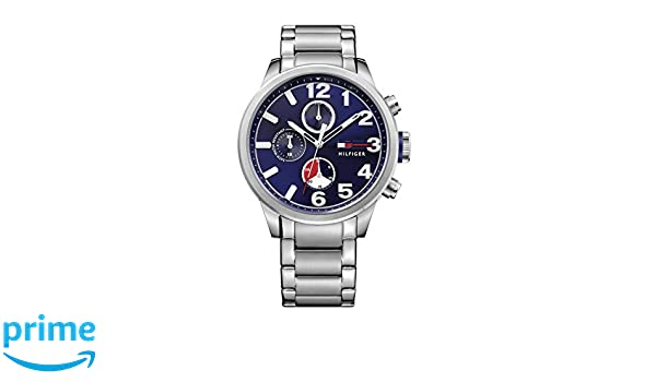 Amazon.com: Tommy Hilfiger Mens Quartz Stainless Steel Casual Watch (Model: 1791242): Watches