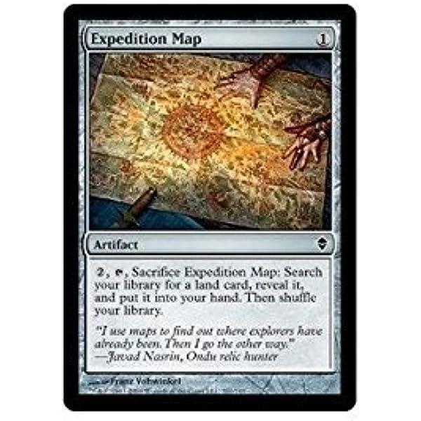 MTG ZEN 4x Expedition Map Magic: The Gathering single card