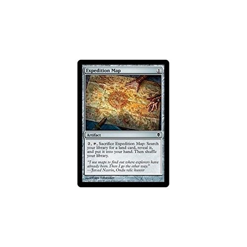 Magic Gathering Expedition Map Zendikar product image