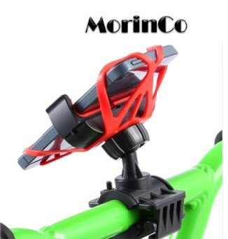 MorinCo Universal Bike Mount Holder with 360 Degree Rotation for iPhone 6+ 6s 6 5s 5c 4, Samsung...