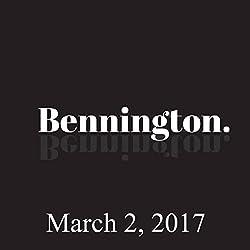 Bennington, March 02, 2017