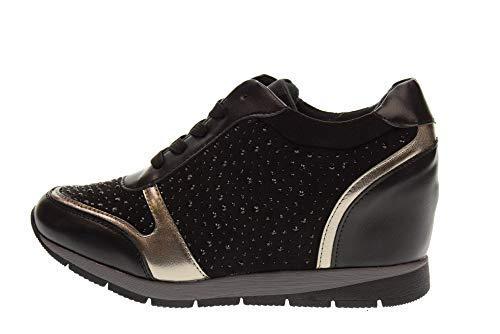 Scarpe Zeppa Sneakers La Donna 48513 Xti 7xbw4inqa Con Nero xgw0qPz