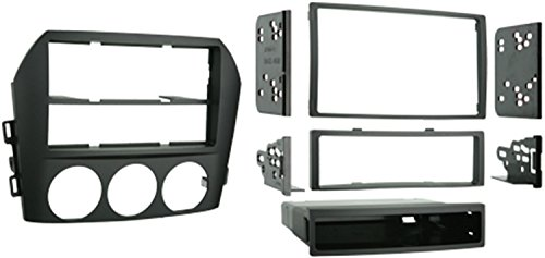 Metra 99-7506 Single DIN/Double DIN Installation Kit for 2006-2008 Mazda Miata MX-5 Vehicles (Black)