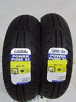 Reifen Michelin Power Pure Sc 110 90 13 56p 130 70 12 56p Tl Auto