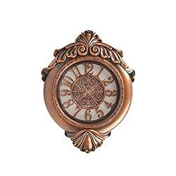 22 Inch Silent Wall Clock Boutique Clocks Decorative Wall Clock (2229Inch,Antique Brass)