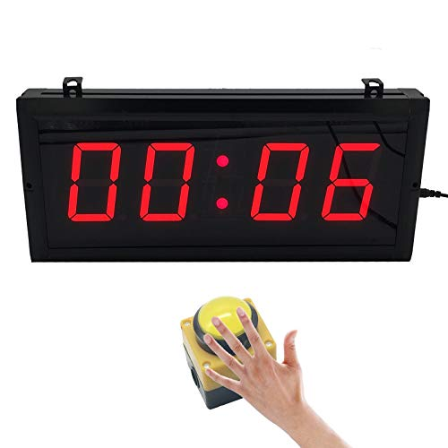 (BTBSIGN 3'' Countdown Timer with Wired Button Wireless Remote Drone Racing)