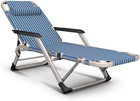 UCYG Tumbona Jardin Exterior Plegable Ligera, Sillas Playa Reclinable Plegable Gravedad Cero, Carga Máx 200 kg, 178x30x64cm: Amazon.es: Hogar