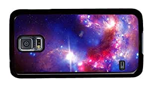 Hipster Samsung Galaxy S5 Cases case mate Purple Star Dust PC Black for Samsung S5