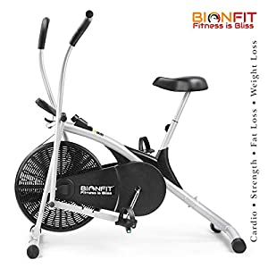 Upright Air Bike Exercise Cycle India 2020 with Dual Moving Arms | Review