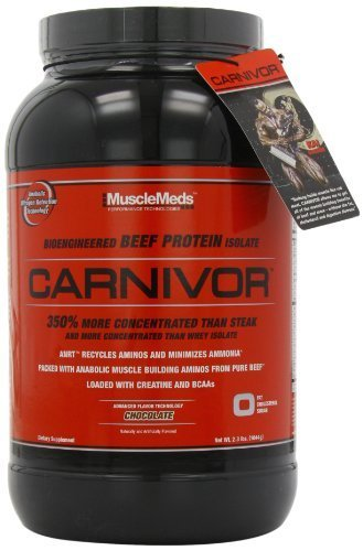 MuscleMeds Carnivor Chocolate Powder 1036g by MuscleMeds (English Manual)
