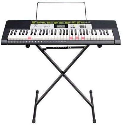 Casio LK-135ST - Teclado con teclado y soporte (61 teclas)