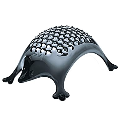 koziol KASIMIR Hedgehog Cheese Grater, transparent anthracite
