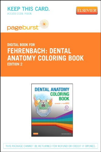 Dental Assisting Coloring Book (Dental Anatomy Coloring Book - Elsevier eBook on VitalSource (Retail Access Card), 2e)