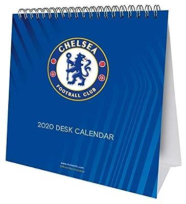 Chelsea FC 2020 Desk Easel Calendar - Official Desk Easel Format Calendar