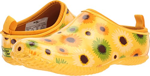 Western Chief Women's Garden Clog, Dried Daisies, 7 M US