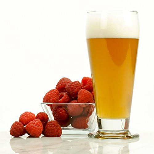 (Raspberry Wheat Malt Extract Light Ale - HomeBrewing Beer Brewing Fruit Recipe Kits - Ingredients For Making 5 Gallons Of Homemade)