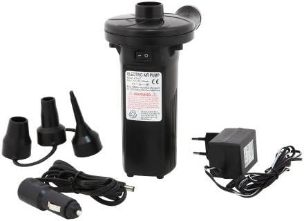 Tera Bomba de Aire Electrica del Compresor Bomba Aire de 12V para Colchones de Aire Inflables Piscina Infantil Usa con Bateria o en Casa o en Coche (Tipo 3)