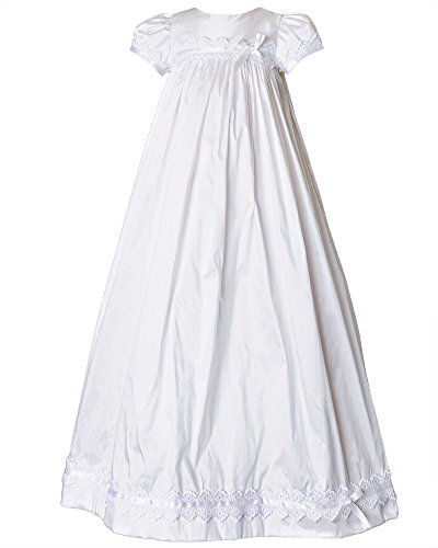 Mariana 9 Month Silk Christening Gown