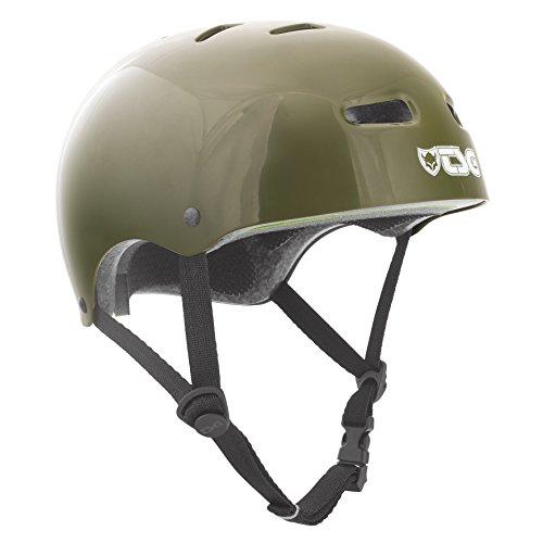 TSG Skate Helmet - Dirt, Jump, Skate, Scooter, BMX Bike Pisspot - Olive LG/XL