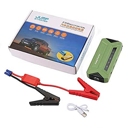 Car Battery Charger Rechargeable Power Supply Bank Portable Adapter Jump Starter