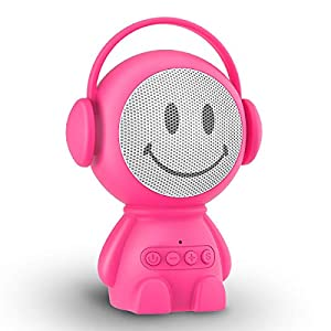 Sleepbox Portable Hushh Sound Machine for Baby Adults Rechargeable White Noise Machine with 30 Non Looping Soothing Sounds and Memory Function 32 Levels of Volume and Sleep Timer Sound Therapy.(Pink)
