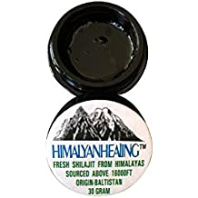 30 Grams - Pure Himalayan Fresh Shilajit - Directly from it's Origin - Himalaya - Gilgit Baltistan Siachen Salajeet