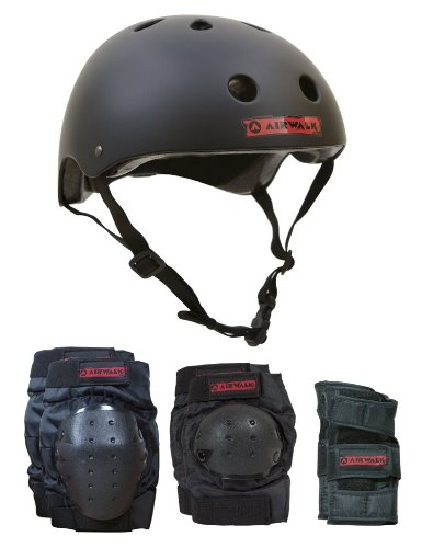 Airwalk  Helmet,Knee, Elbow, Wrist Combo  - Junior -  CHILD
