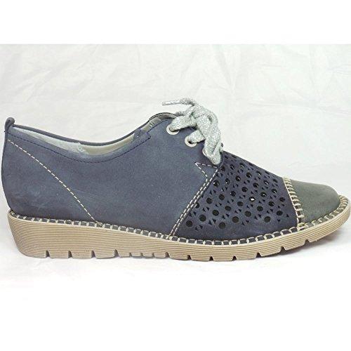 Zapatos azules Jenny para mujer kOkgainr