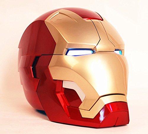 Gmasking 2016 Iron Man MK42 Wearable Adult Helmet 1:1 Replica Upgrade (Ironman Costumes Replica)