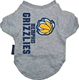 NBA Memphis Grizzlies Pet T-Shirt, Team Color, Small