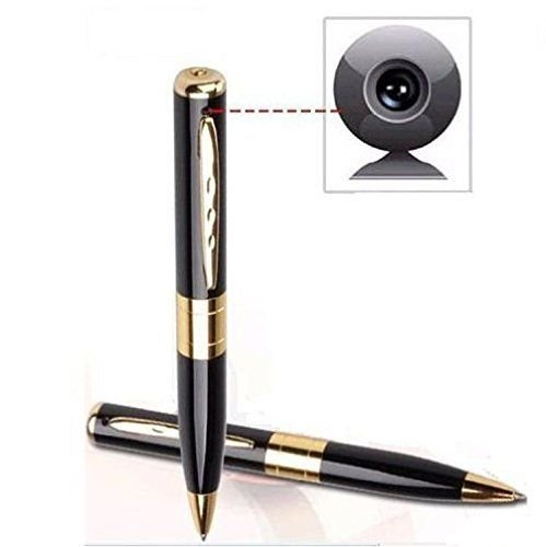 TECHNOVIEW Spy Pen Camera 720P Video/Audio Recording for Home Office Meeting Pen Camcorder Security Cam with Memory Card…