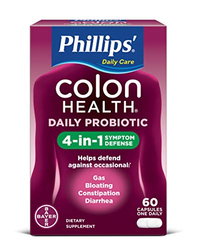 Phillips Colon Health Probiotic Capsules, 60 Count