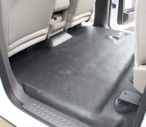 801-Black Plush Cut Pile Without Rear Floor Vents ACC 1988 to 1998 GMC Extended Cab Pickup Truck Carpet Custom Molded Replacement Kit
